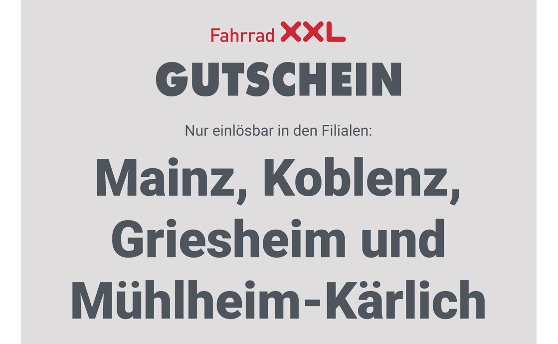 Gutschein - Fahrrad XXL Franz - 2020