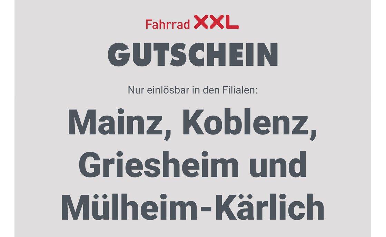 Gutschein - Fahrrad XXL Franz - 2021