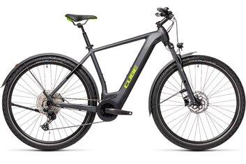 E-Bike Cross - Cube Cross Hybrid Pro 625 Allroad - 625 Wh - 2021 - 28 Zoll - Diamant