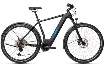 E-Bike Cross - Cube Cross Hybrid Race 625 Allroad - 625 Wh - 2021 - 28 Zoll - Diamant