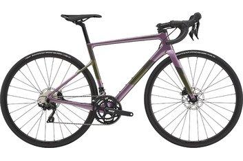 Straßenrennräder - Cannondale SuperSix EVO Carbon Disc Women's 105 - 2021 - 28 Zoll - Diamant