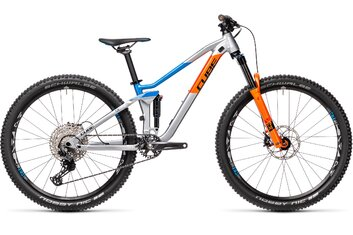 Jungen - Mountainbikes - Cube Stereo 120 Rookie - 2021 - 27,5 Zoll - Fully