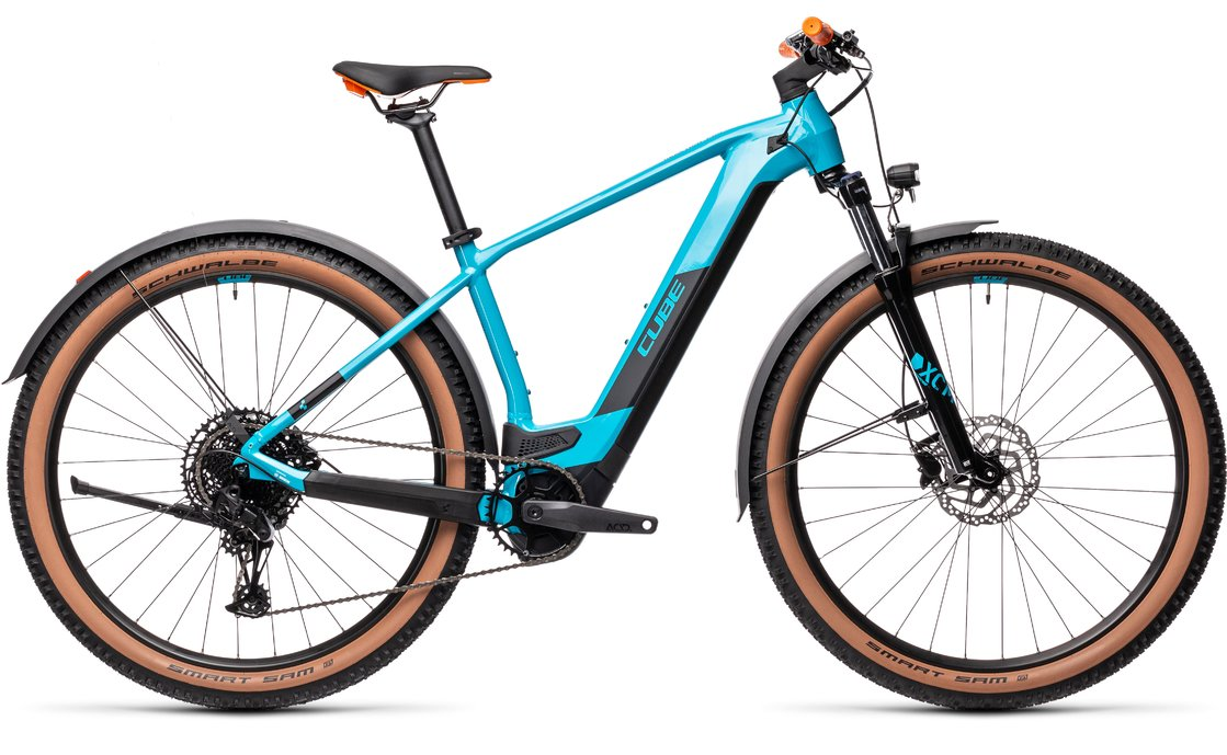 Cube Reaction Hybrid Pro 500 Allroad - 500 Wh - 2021 - 29 Zoll - Diamant