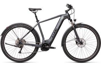 E-Bike-Pedelec - Cube Nature Hybrid EXC 625 Allroad - 625 Wh - 2021 - 28 Zoll - Diamant