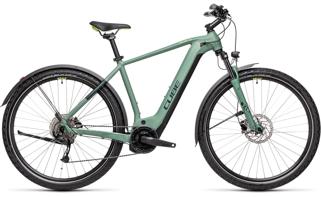 Cube Nature Hybrid One 625 Allroad - 625 Wh - 2021 - 28 Zoll - Diamant