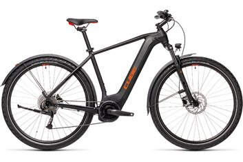 Cube Nature Hybrid - Cube Nature Hybrid One 500 Allroad - 500 Wh - 2021 - 28 Zoll - Diamant