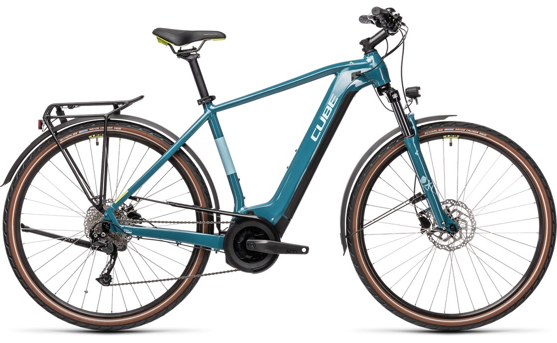 Cube Touring Hybrid One 500 - 500 Wh - 2021 - 28 Zoll - Diamant