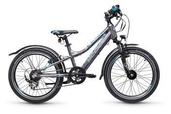 Heckmotor - E-Bike-Pedelec - S'cool e-troX 20-7 - 252 Wh - 2021 - 20 Zoll - Diamant