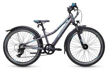 E-Bike-Pedelec - S'cool e-troX 24-7S - 252 Wh - 2022 - 24 Zoll - Diamant
