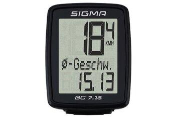 Fahrradcomputer kabelgebunden - Sigma BC 7.16 - 2020