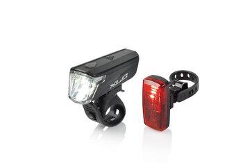 Fahrradbeleuchtung - XLC Comp Capella CL-S20 Beleuchtungsset - 2021