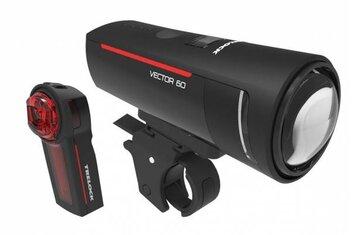 Trelock - Trelock LS 600 I-Go Vector 60 & LS740 Vector rear Beleuchtungsset - 2021