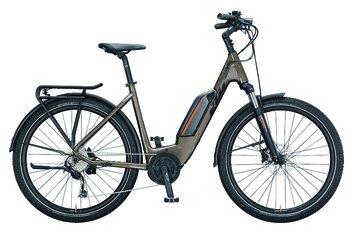Damen - KTM - E-Bike Trekking - KTM Macina Gran P272 - 500 Wh - 2021 - 27,5 Zoll - Tiefeinsteiger