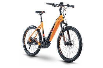 Damen - E-Bike MTB - Raymon CrossRay E 7.0 - 500 Wh - 2020 - 27,5 Zoll - Tiefeinsteiger