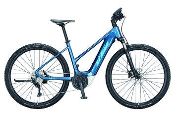 Damen - KTM - E-Bike Trekking - KTM Macina Cross P610 - 625 Wh - 2021 - 28 Zoll - Damen Sport