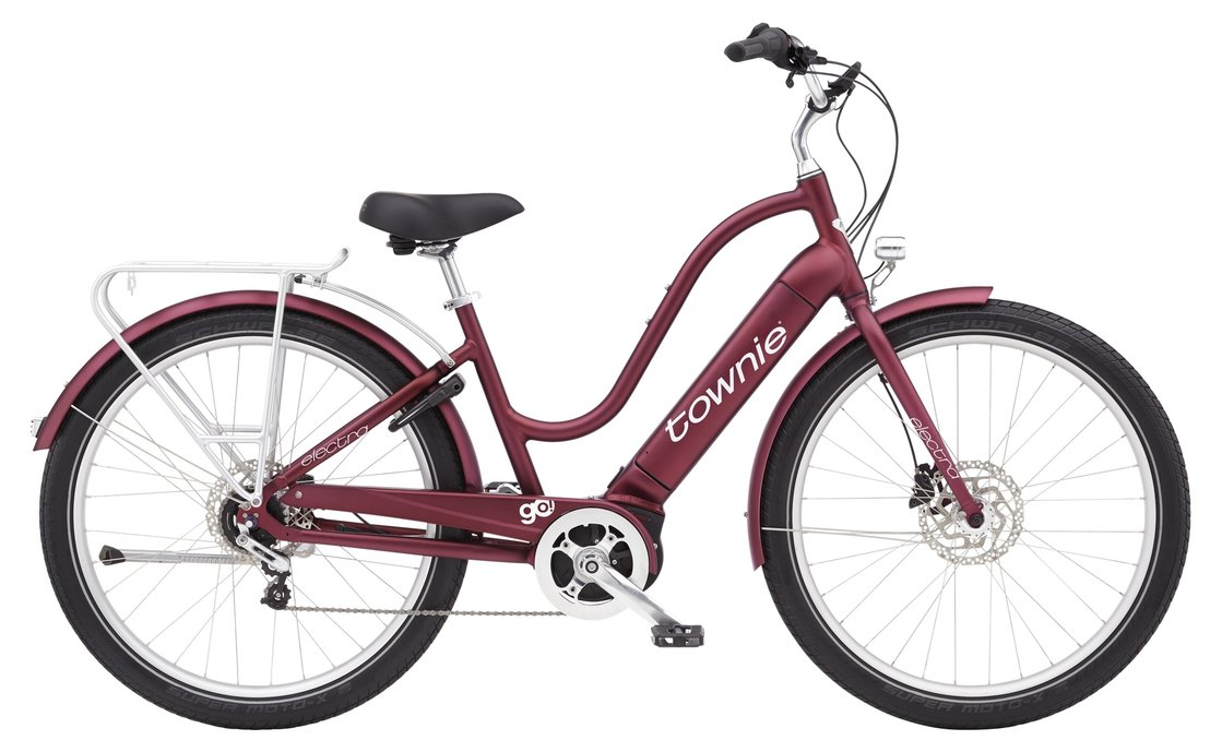 Electra Townie Path Go! 5i Step-Thru - 500 Wh - 2021 - 27,5 Zoll - Cruiser