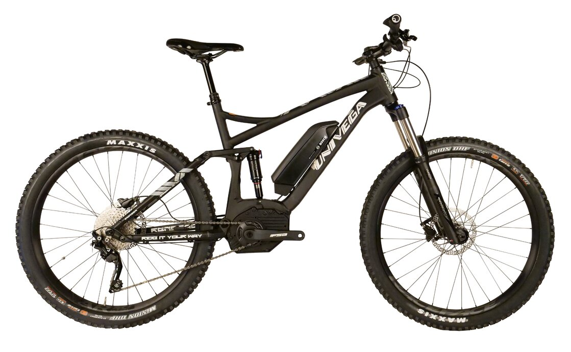 Univega Renegade B Edition - 500 Wh - 2019 - 27,5 Zoll - Fully