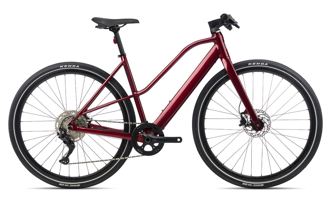 Orbea Vibe MID H30 - 248 Wh - 2021 - 28 Zoll - Diamant