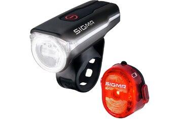 Fahrradbeleuchtung - Sigma Aura 60 & Nugget II Beleuchtungsset - 2021