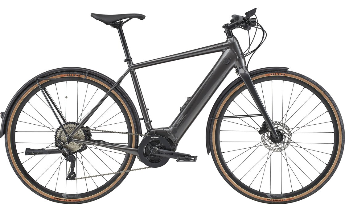 Cannondale Quick Neo EQ - 500 Wh - 2021 - 28 Zoll - Diamant