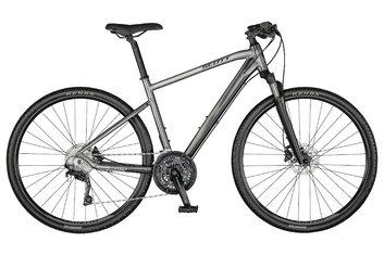 Scott - Crossbikes-Fitnessbikes - Scott Sub Cross 20 Men - 2021 - 28 Zoll - Diamant