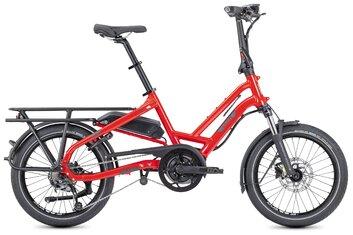 20 Zoll - E-Bike Faltrad-Klapprad - Tern HSD P9 LR mit Beleuchtung - 500 Wh - 2021 - 20 Zoll - Komfort