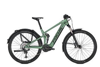 Fully - E-Bike Trekking - Focus Thron2 6.8 EQP - 625 Wh - 2021 - 29 Zoll - Fully