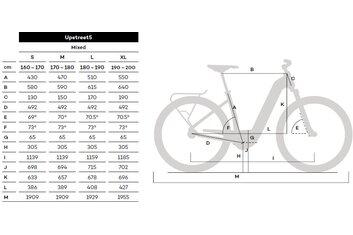 Flyer - E-Bike 45km-h - Flyer Upstreet5 7.70 HS EU - D1 - 630 Wh - 2020 - 28 Zoll - Damen Sport