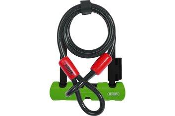 Abus - Bügelschlösser - Abus Ultra Mini 410/150HB140 SH34 Bügelschloss + Cobra 10/120 - 2021