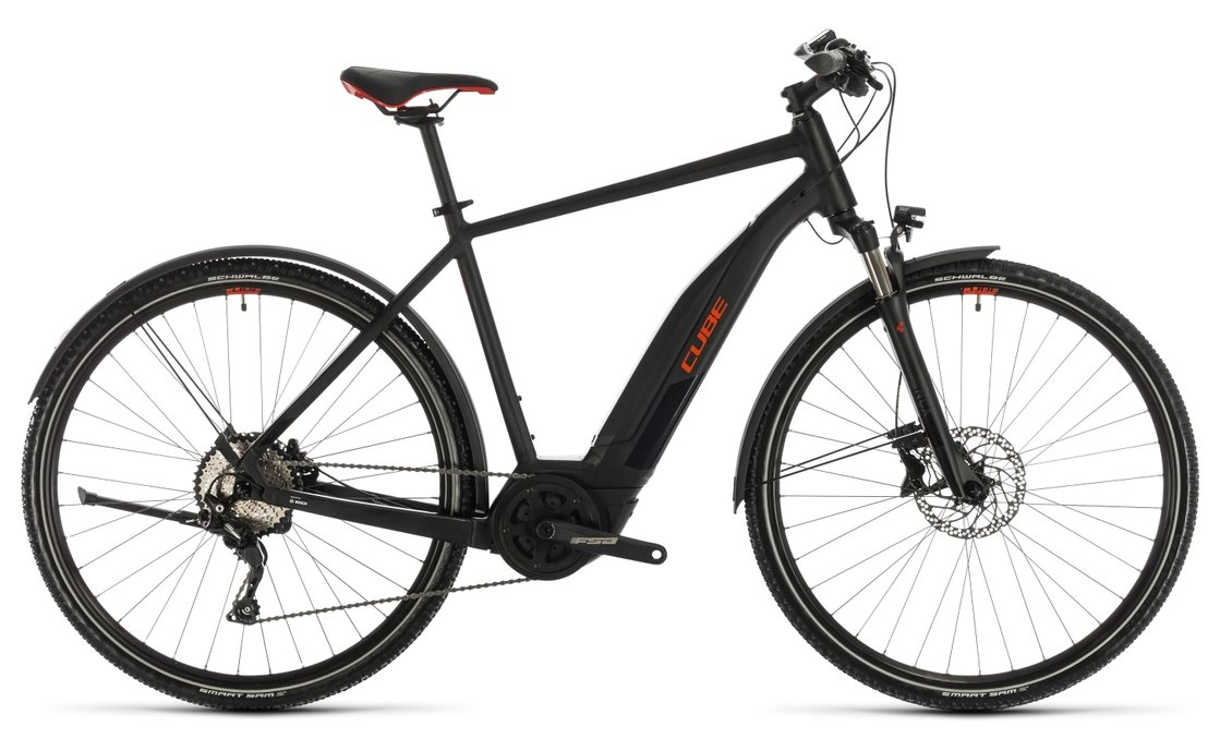 Cube Nature Hybrid EXC 500 Allroad - 500 Wh - 2020 - 28 Zoll - Diamant
