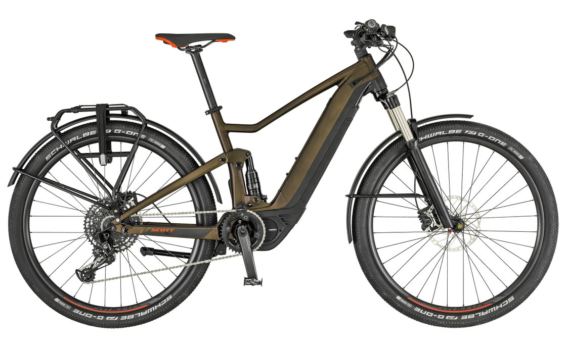 Scott Axis eRide EVO - 500 Wh - 2019 - 29 Zoll - Fully