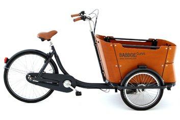Dreirad-Trike - Babboe Curve Holz - 2020 - 26 Zoll - Sonstiges