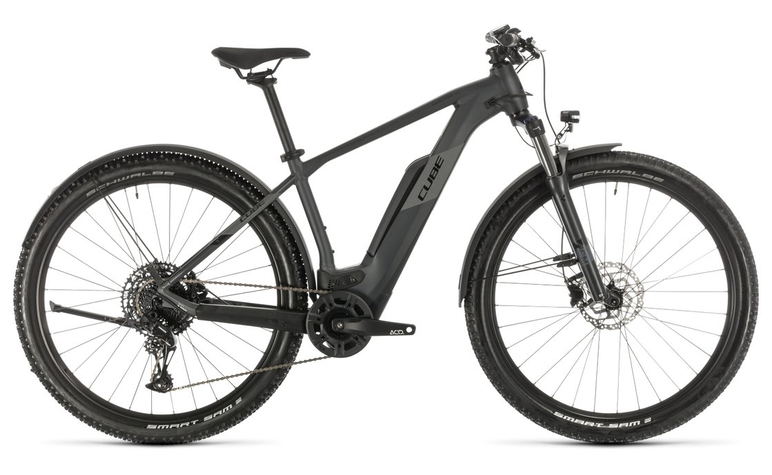 Cube Reaction Hybrid Pro 500 Allroad - 500 Wh - 2020 - 29 Zoll - Diamant