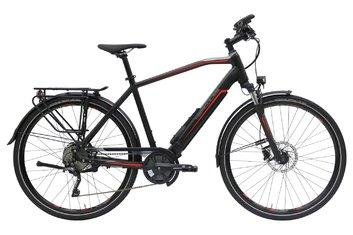Hinterradmotor - E-Bike Trekking - Hercules Alassio Pro I - 650 Wh - 2020 - 28 Zoll - Diamant