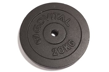 Hanteln - Govital Guss-Scheiben, 1x20,0kg - 2018