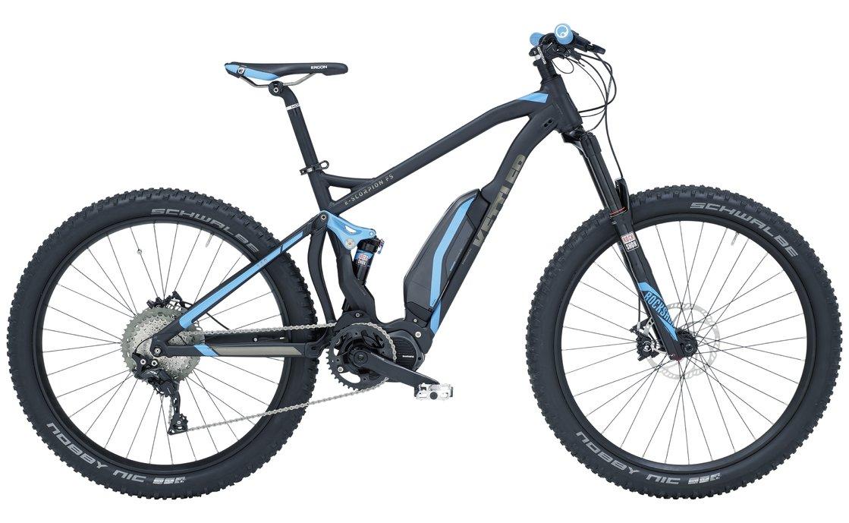 Kettler E Scorpion FS - 500 Wh - 2017 - 27,5 Plus Zoll - Fully