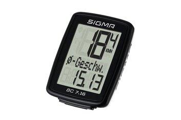 Fahrradcomputer kabelgebunden - Sigma BC 7.16 - 2021